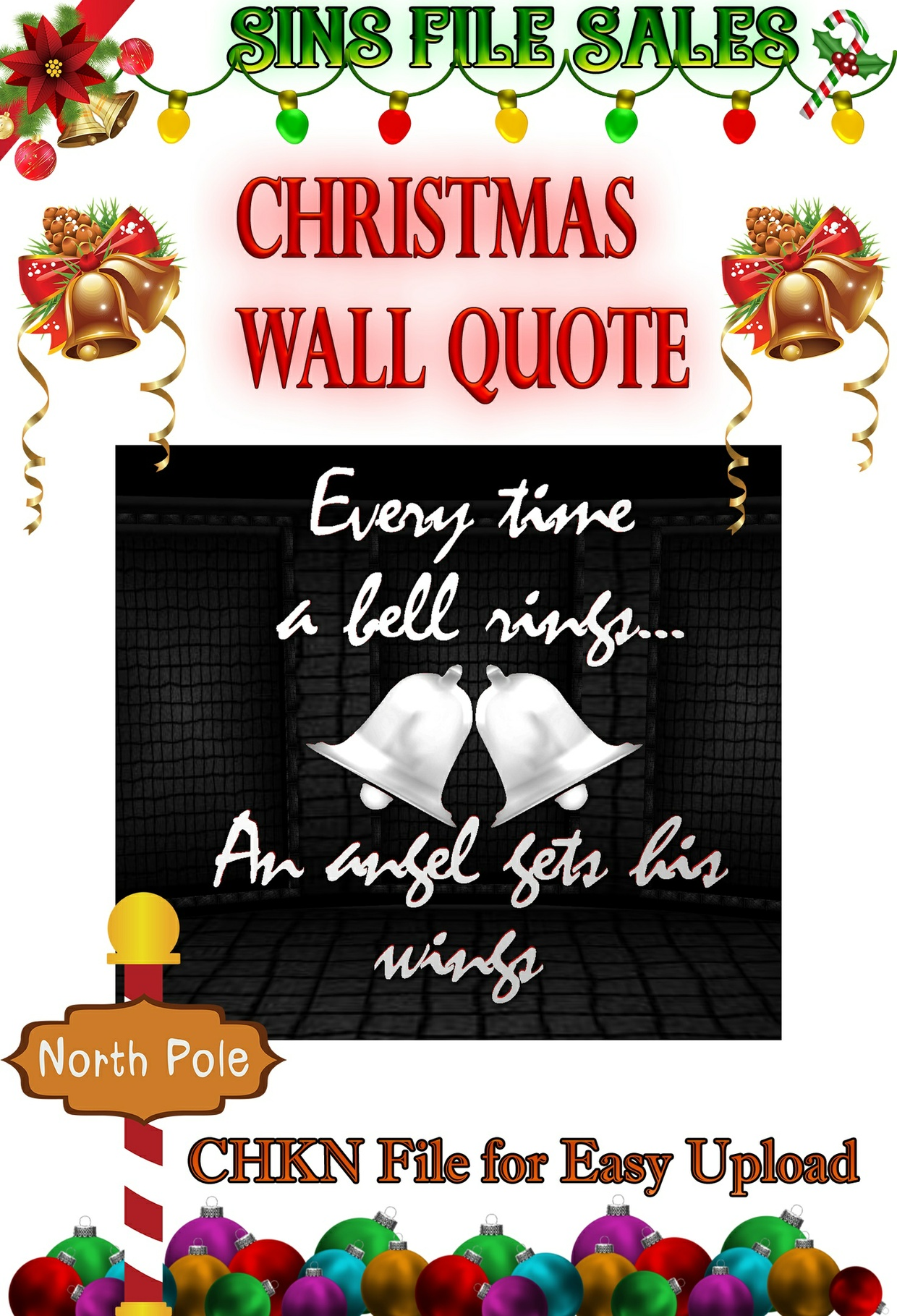 Christmas Wall Quote