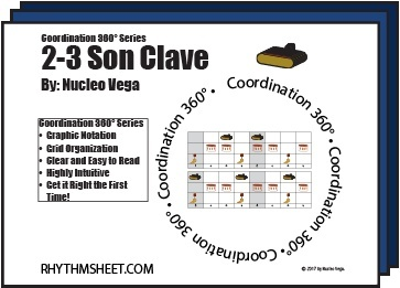 Coordination 360° Series: Son Clave 2-3