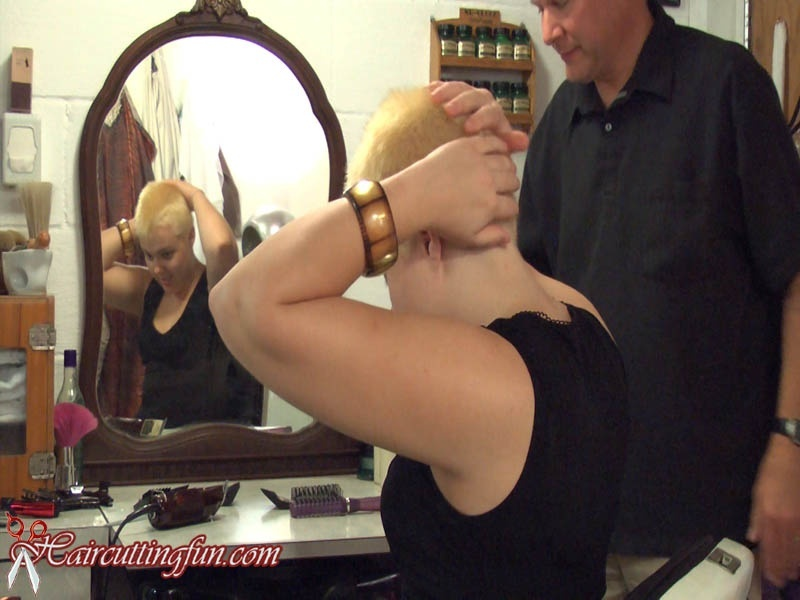 Vanessa Bleach and Buzz Haircut - VOD Digital Video on Demand