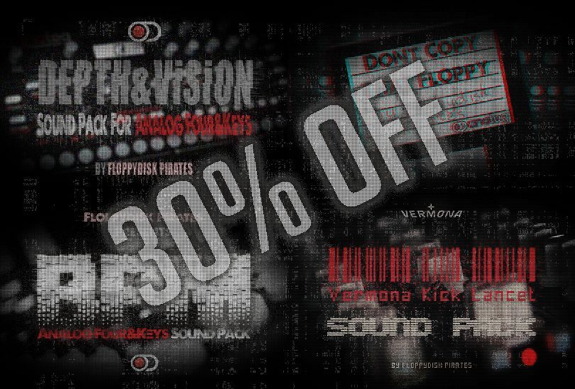 552 New Analog Four/Keys patches included! Buy the entire bundle and save 30%
