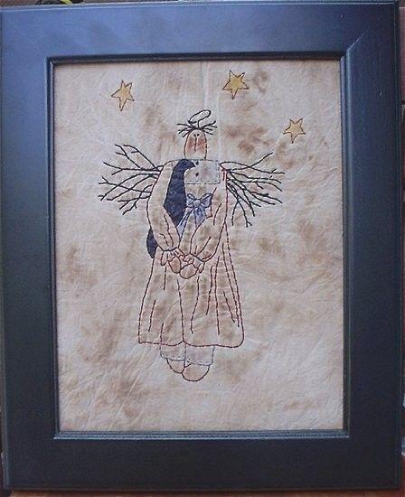 #322 Patriotic Angel E Pattern