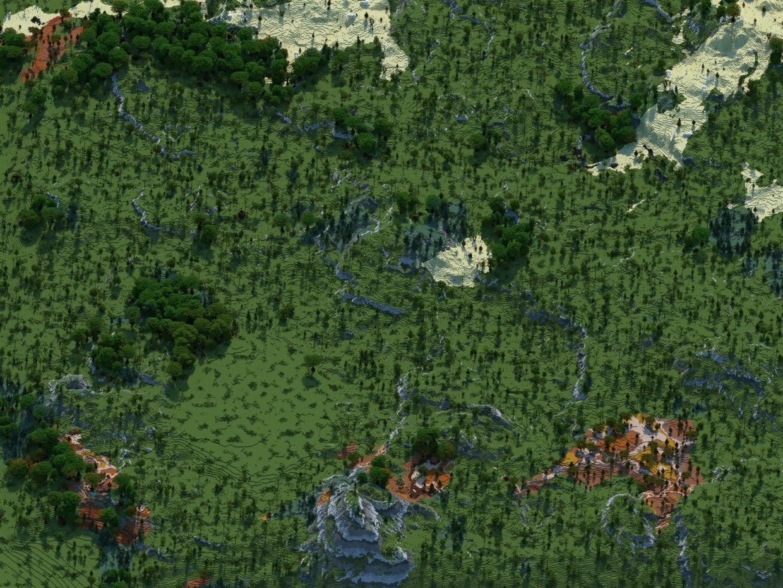 6K HCF map V2 (For 1.7+)