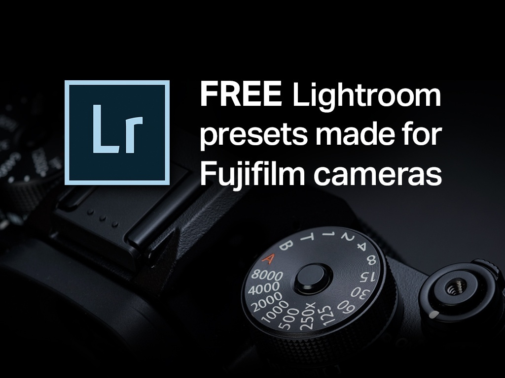 Free Lightroom presets for Fujifilm cameras by Samuel Zeller