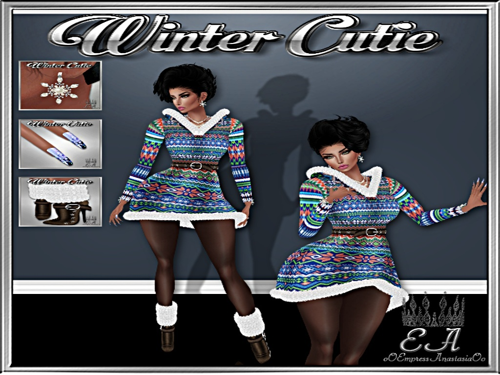 Winter Cutie with Re-Sell Rights!!!