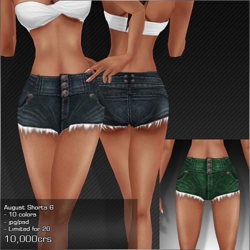 2013 Aug Shorts # 6