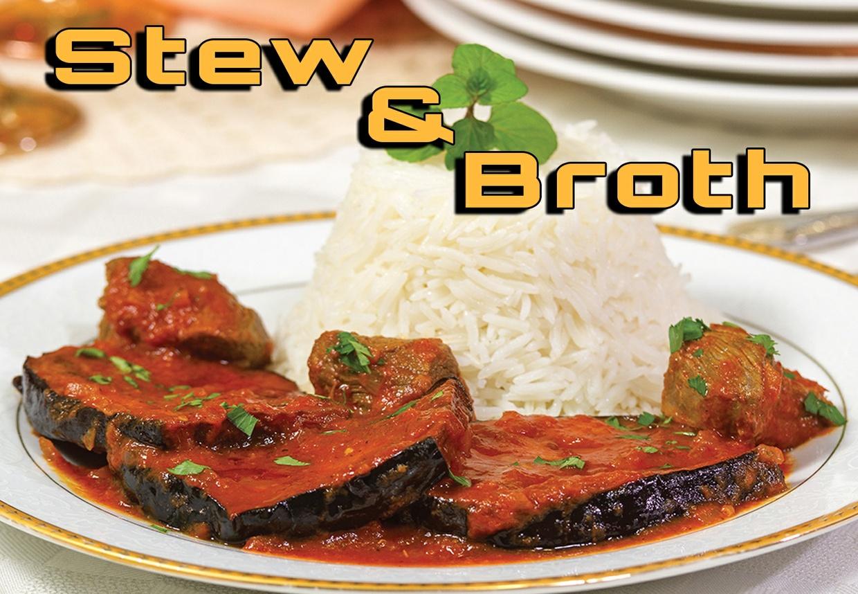 Stew & Broth Chapter فصل المرق واليخنة