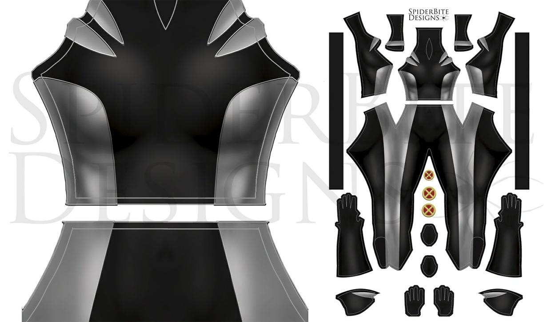 X-23 Black/Grey suit