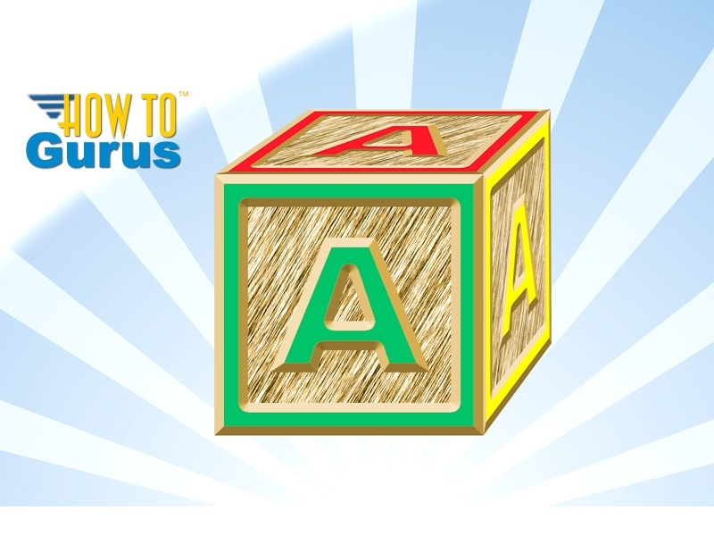 How to Make a 3D Effect Letter Block in Adobe Photoshop Elements 15 14 13 12 11