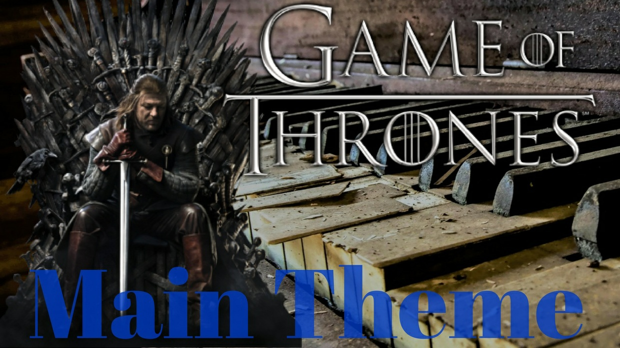 Game of Thrones - Main Theme - Hard piano cover - Marco Tornatore