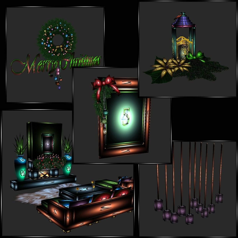 Christmas Tree Store Furniture: Christmas🌟 Special #2🎄19 Furniture Meshes Plus Bonus