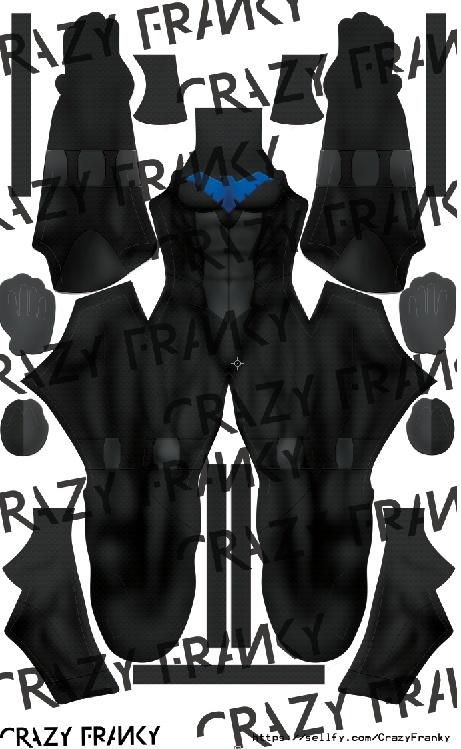 Nightwing V1 pattern