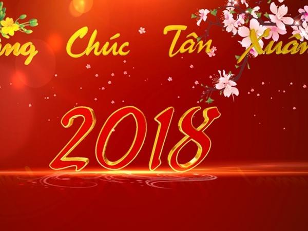 Blufftitler Template : New Year 2018 - Style 01