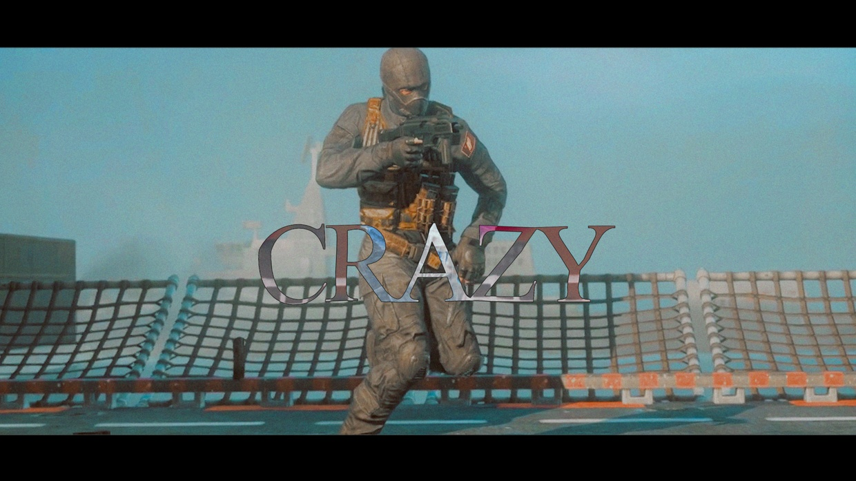 Crazy By @AspJamess (Project File w/ Clips & Cines)