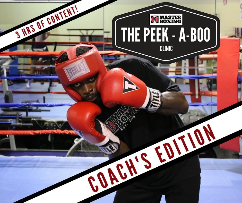 Peek-A-Boo Coach's Clinic by Coach Eric A. Bradley