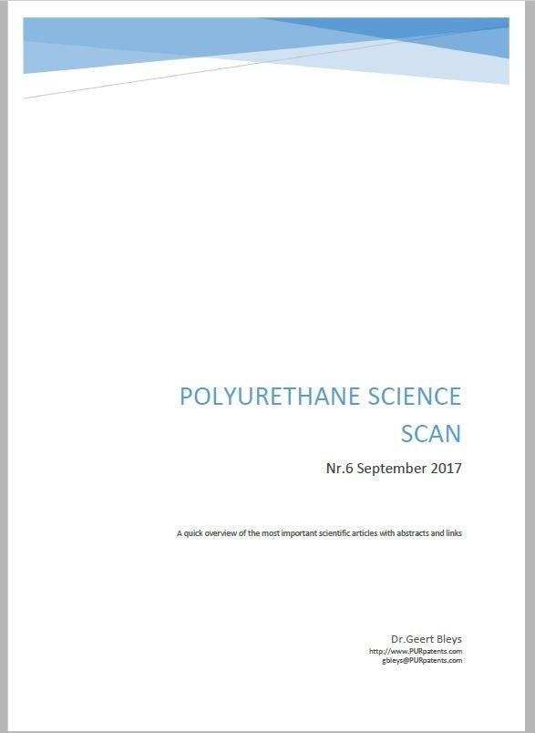 Polyurethane Science Scan Nr.6 - September 2017