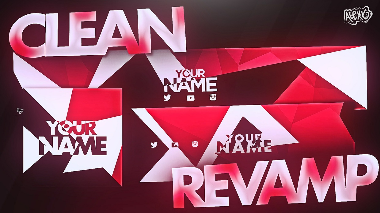 TEMPLATE CLEAN REVAMP BY AlexxDesigns (4,50$)