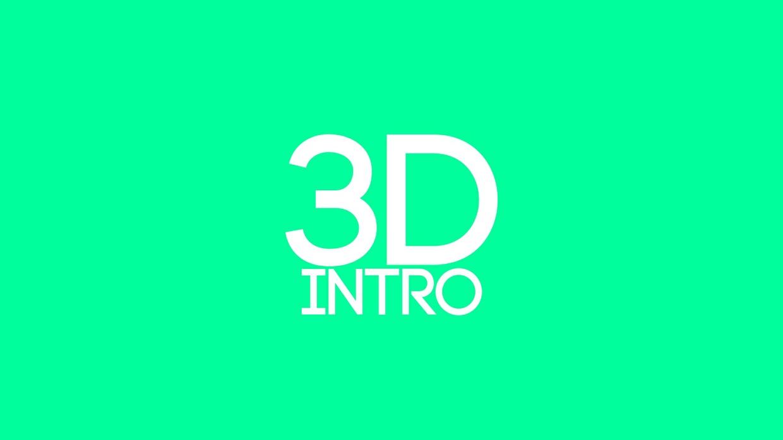 3D Intro {Finally Open!]