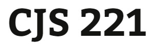 CJS 221 Week 3 Minority Groups and the Court System Paper