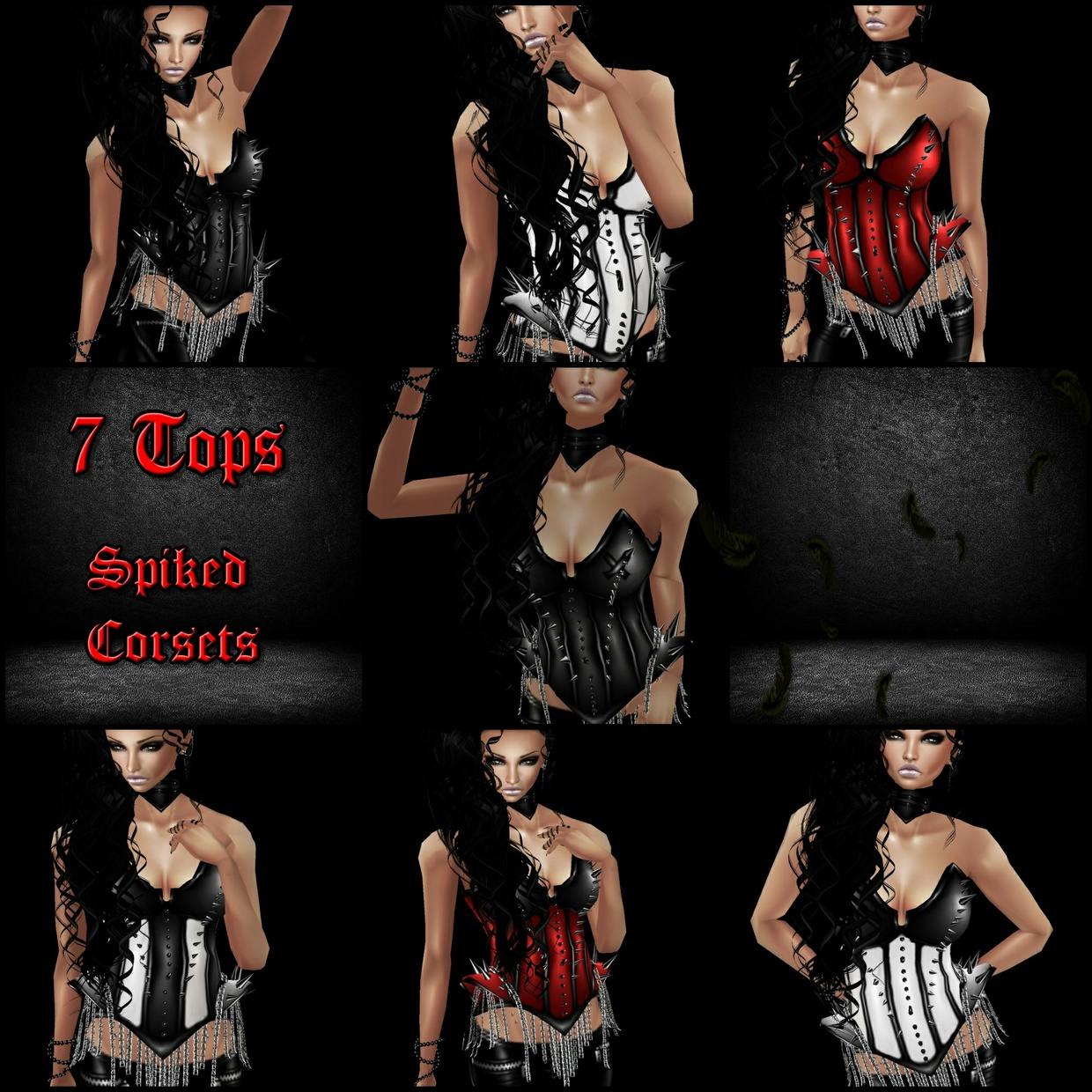 Spikes Corsets