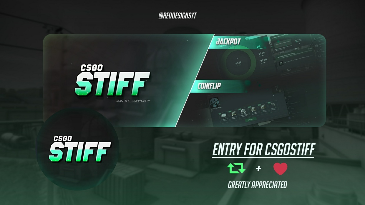 FULLY CUSTOMIZABLE GFX (Banners/Thumbnails/Headers/etc...)