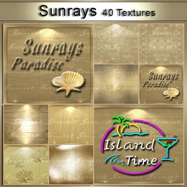 Sunrays 40 Textures