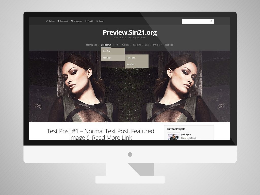 WP Premade (From WP/CPG Bundle #12 - Without Slider)
