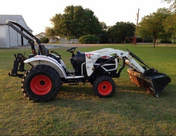 Bobcat CT120 Compact Tractor Service Repair Manual DOWNLOAD (S/N A59A11001 & Above)