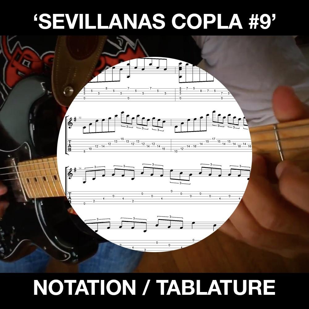 SEVILLANAS COPLA #9 - BEN WOODS