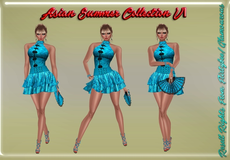 Asian Summer Collection V1 Catty Only!!!