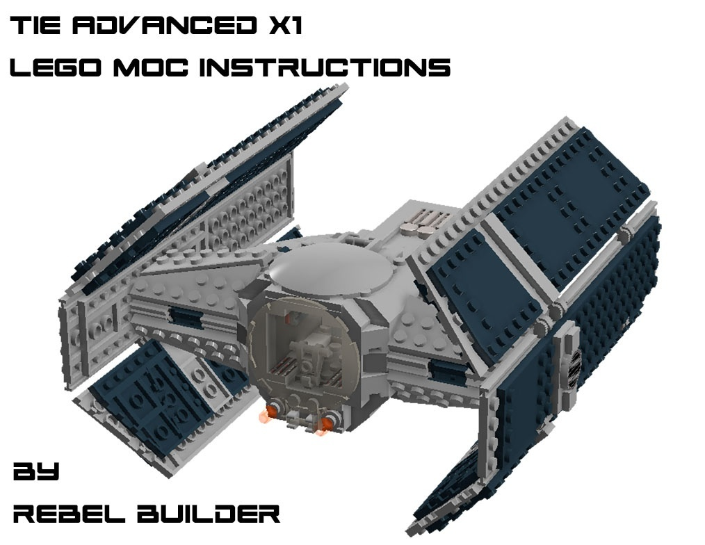 LEGO Darth Vader's TIE Advanced X1 Instructions