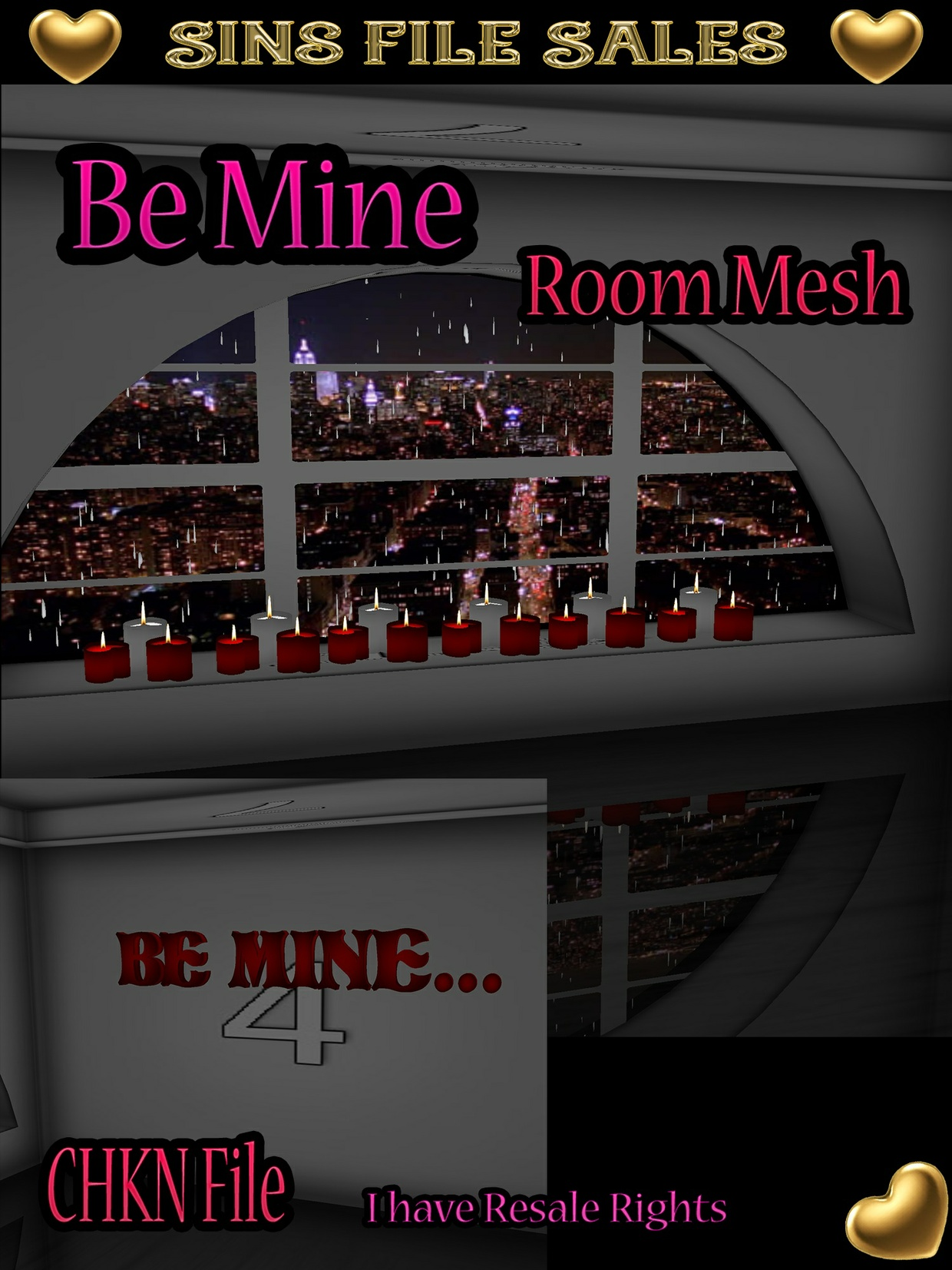 Be Mine Room Mesh