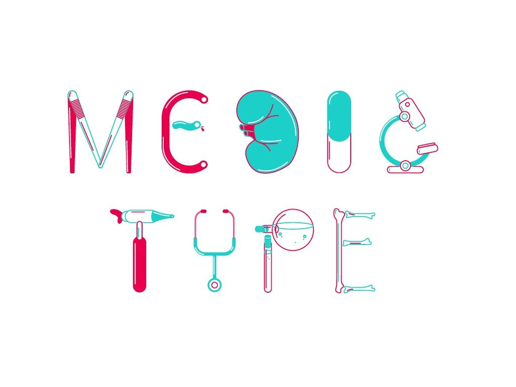 Medic Type – Illustrative font and letters