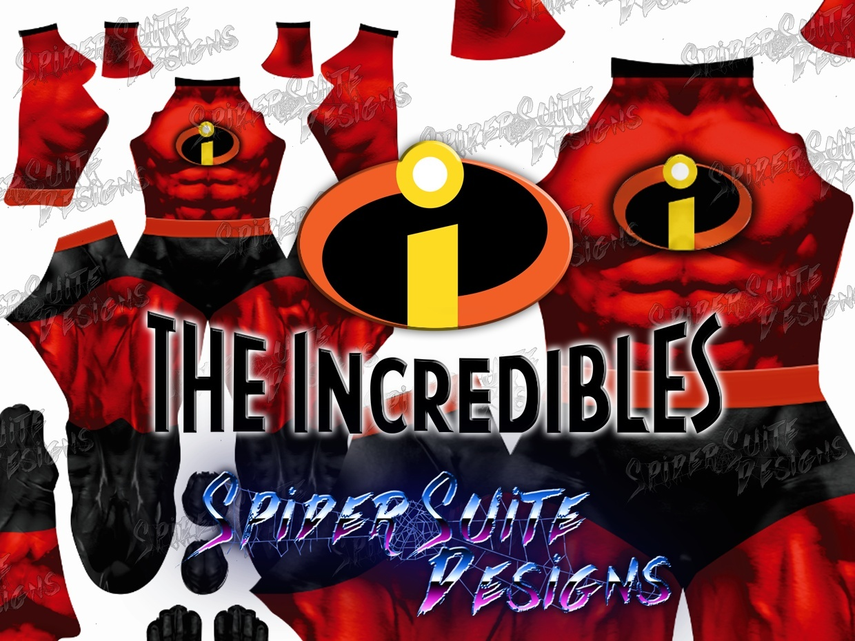Mr. Incredible Red Suit 2017 Pattern