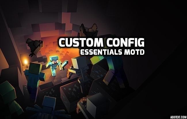Essentials MOTD