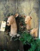 #426 santas reindeer e pattern