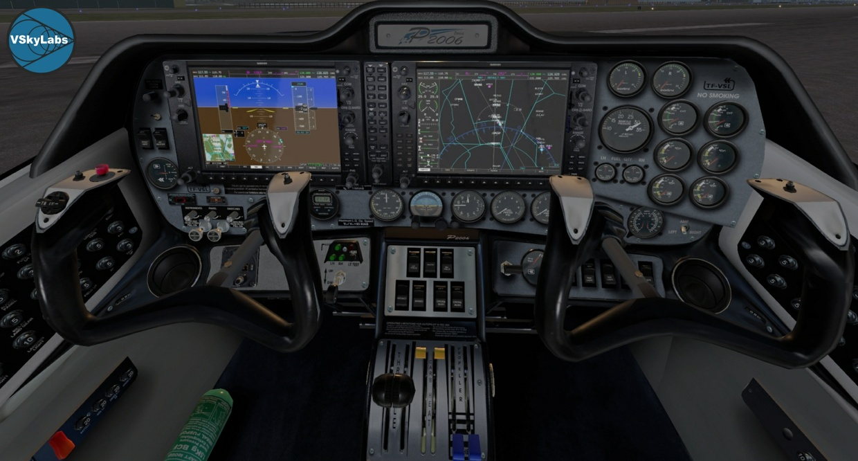 VSKYLABS Tecnam P2006T Project v4.0