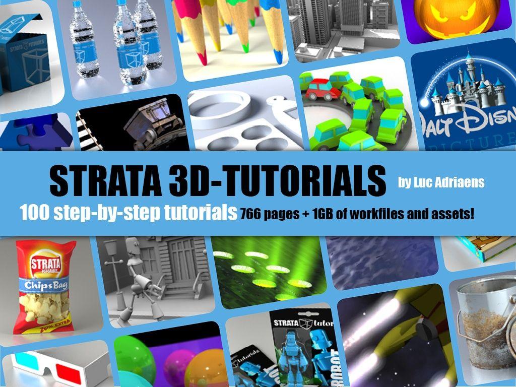 100 Strata 3D Tutorials
