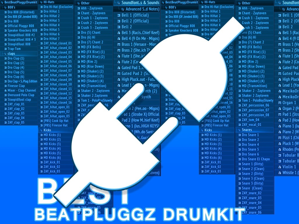 Best BeatPluggz Drumkit