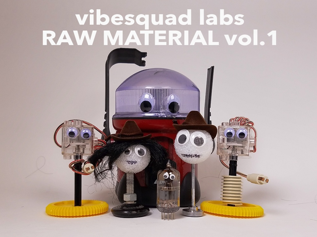 vibesquad labs RAW MATERIAL vol.1 - (soundpack)