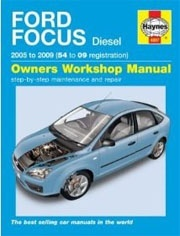 Ford Focus 2005 to 2009 Owner's Workshop Manual