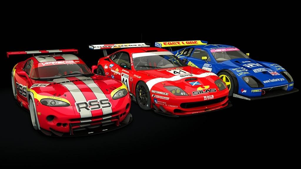 RSS GT Pack for Assetto Corsa