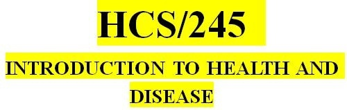 SCI 163 Week 4 Chronic Disease Presentation (2 PPT) NEW