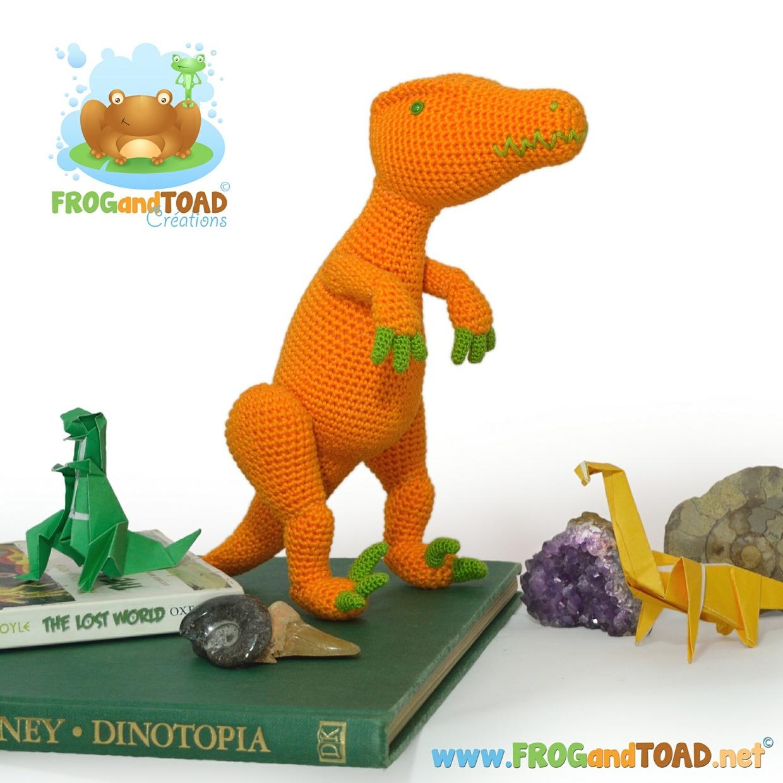 Venedict Velociraptor - FROGandTOAD Créations ©