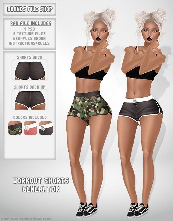 Workout Shorts Generator