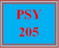 PSY 205 Week 2 Scenario Summary