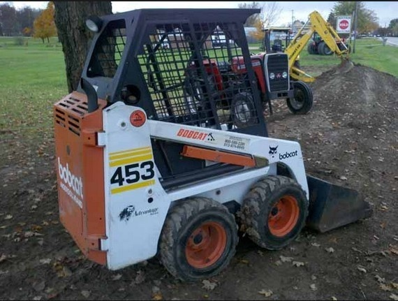 Bobcat 453 Skid Steer Loader Service Repair Manual (S/N 515011001 & Above, S/N 515111001 & Above)