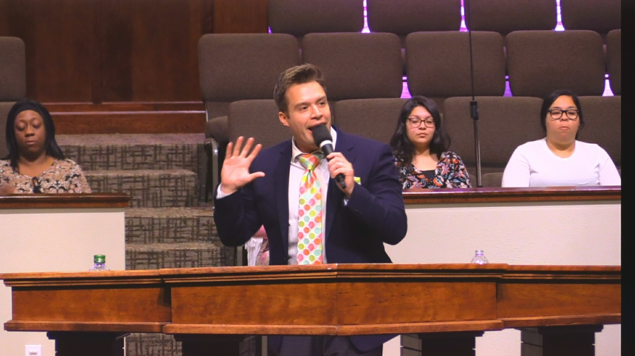 """Rev. Josh Herring 02-11-18pm """" The Gift of a Thorn """" MP4"""