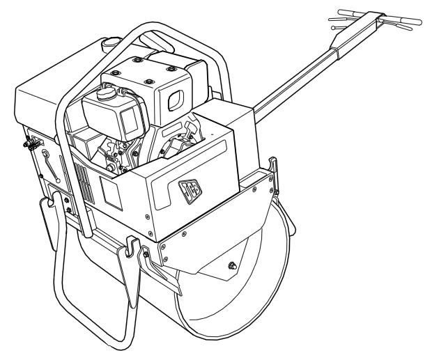 JCB Vibromax VMS 71 Mini Road Roller Service Repair Manual Download