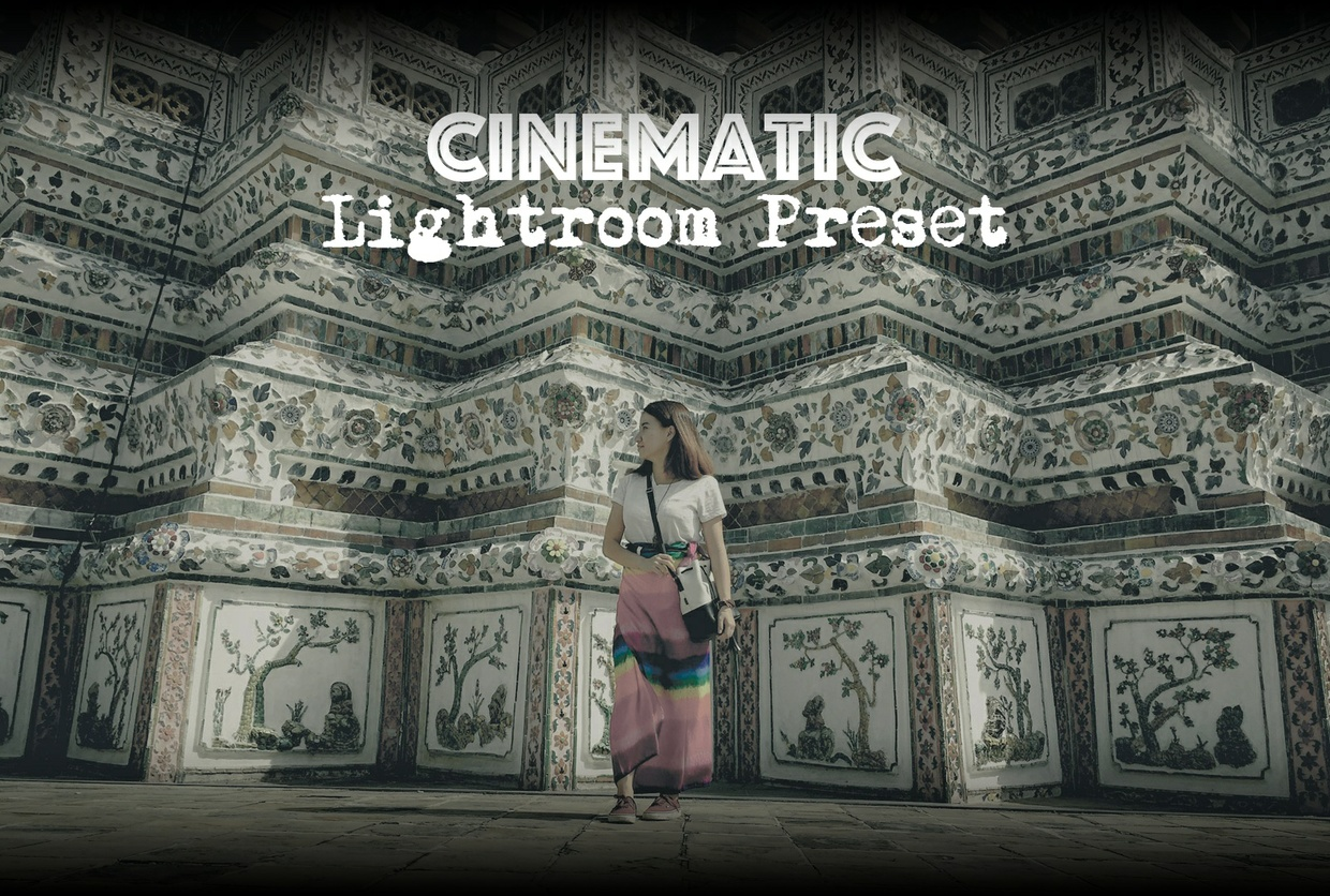 Cinematic Lightroom Preset