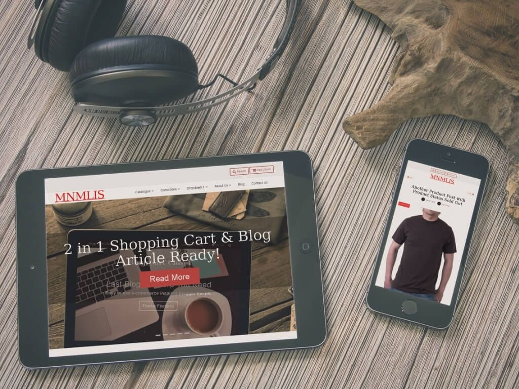 BlogrCart MNMLIS (v2.0) Free Responsive Premade Blogger Shopping Theme with Cart
